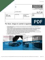 Confirmación | Check-in | Aerolíneas Argentinas