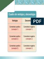 Clase12.Cuadro Ventajas Desventajas