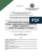 Transparence de La Gestion Fiscale Fr