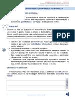 Administracao Geral e Publica Aula 13 Evolucao Da Administracao Publica No Brasil III