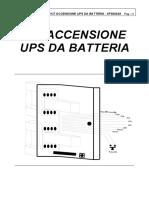 0fs0023a Rev.00 (Manu Kit Accensione Ups Da Ratteria, Hps 8-40kva)-(Caan,310304,Scma)