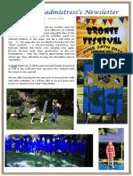 Newsletter No 45 - 29th June 2018
