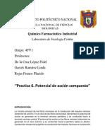 Reporte 6 Fisiología Celular