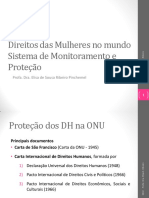 Direitos Das Mulheres - Sistema Universal de Proteção Dos DH