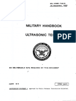 Ultrasonic Testing Handbook