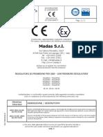 Certificado Reguladores Madas