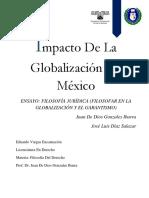 Ensayo El Narcotrafico en Mexico Forma de Conflicto Social