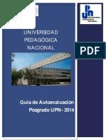 Autoevaluación Del Posgrado-UPN