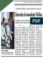 19-09-18 Honrarán al comandante Molina