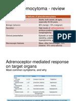 Pheochromocytoma clinical characteristics