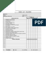 Check List POLICORTE - Copia