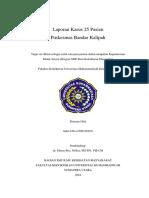 Cover Laporan Kasus 25 Pasien Bandar Kalipah