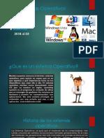 Exposicion de Un Sitema Operativo