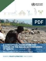 Solar Irwin a Conceptual Framework Social Determinants