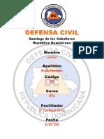 Trabajo Defesa Civil