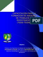 CAPACITACIÒN PARA ASESORES DE TESIS.ppt