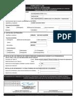 Formulario 1492 - Certificado de Rentas y Retenciones