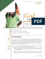God Calls Us to Lead - Activity