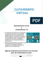 RECLUTAMIENTO VIRTUAL, HOJA DE VIDA, BASE DE DATO