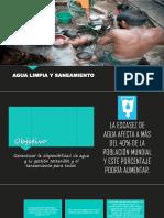 Agua limpia y saneamiento Perú