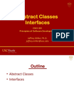 Abstract Classes Interfaces
