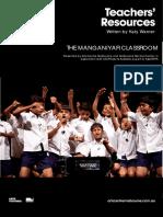 Manganiyar Classroom - Teacher Resources