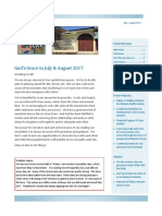 newsletter july august 2017
