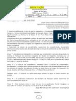 11.08.18 Resolução SE 49-2018 Processo de Promoção Docentes Referências Bibliográficas Republicação Com Retificação