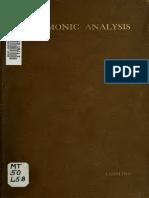 Lehmann - Harmonic Analysis