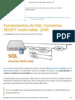 Fundamentos de SQL_ Consultas SELECT Multi-tabla - JOIN