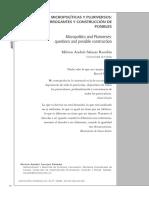 MICROPOLÍTICAS Y PLURIVERSOS