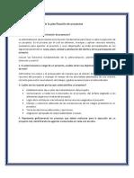 Funciones de La Planificación de Proyectos