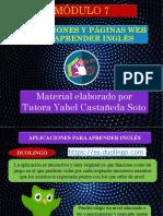 Aplicaciones y Páginas WEB para aprender Inglés