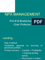 NPA Management