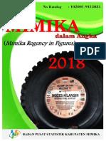 Kabupaten Mimika Dalam Angka 2018