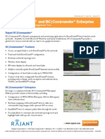 Rajant BCCommander Data Sheet