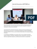 05-09-2018-Capacitará Secretaría de Economía a MIPYMES en Sonora - TvPacifico