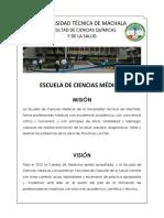 Misión y Visión de Ciencias Médicas