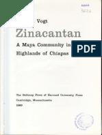 Vogt 1969 Zinacantan