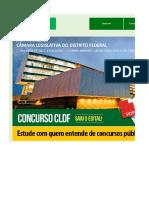 Edital Verticalizado CLDF Conhecimentos Gerais Consultor Legislativo