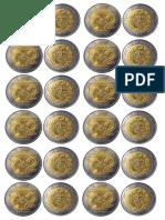 monedas 5 y 2 soles