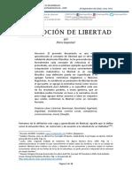 Una Noción de Libertad - Piero Gayozzo
