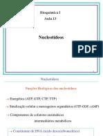 Aula13_Nucleotideos