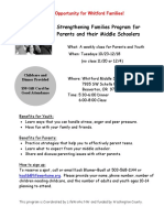sfp class flier for whitford- english