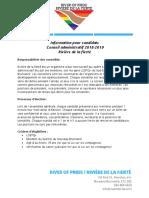 Information Pour Candidats Conseil Administratif