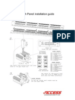 Patch Panel Install Guide