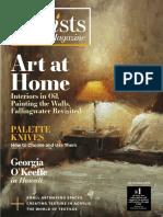 2018-11-01 the Artist's Magazine