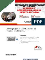 Anemia y Desnutricion Tacna Midis