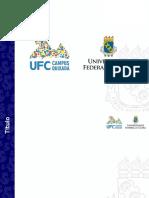 Modelo Slide UFC Quixada Power Point