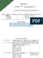 Planeación Tec1 Parcial 9 (28Mayo-1Jun18)